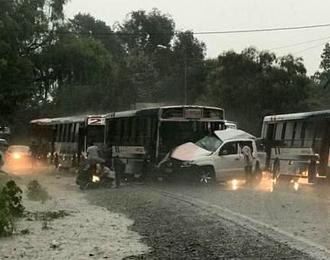 Accidente en Cerrillos